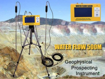 Detection device for groundwater