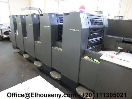 ماكينة HEIDELBERG SM 52-5-P2 مستعملة13