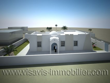 لبناء منزل في جربة خومة السوق