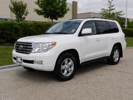 2010 Toyota Land Cruiser Full Options, Accident F
