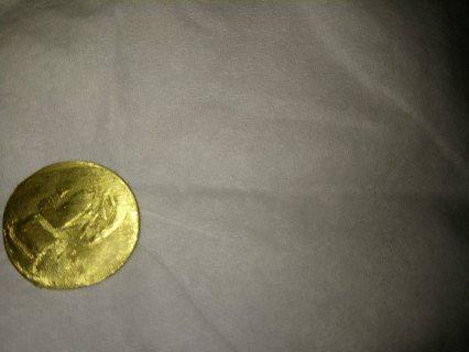 عملات ذهبية تعود الي حضرة البونقية قبل الملاد
