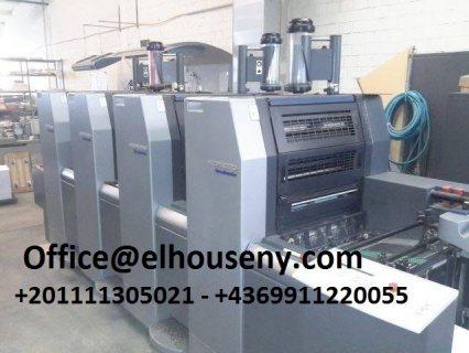 ماكينة طباعة هايدلبرج سبيد ماستر 4 لون