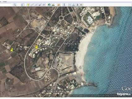 ارض للبيع في طريق بحر المنصورة بقليبية _ نابل