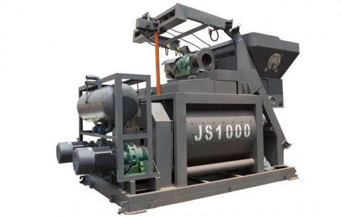 خلاط الخرسانة JS1000,ملموسة خلاط 60 م3/ساعة