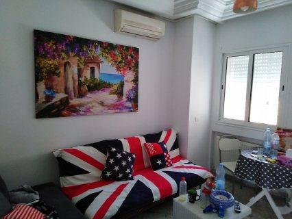 شقة مفروشة للإيجار في حدائق قرطاج تونس