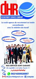 DHR-JOBS Société de recrutement a l'étranger .
