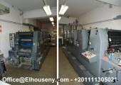 للبيع ماكينة Heidelberg GTO 52-5 FP 5 لون بسعر مغر