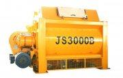 خلاط الخرسانة JS3000,ملموسة خلاط 180 م3/ساعة
